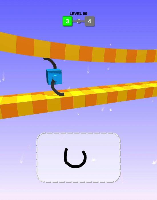 Draw Climber mod apk gameplay