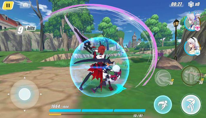 Honkai Impact 3 mod apk gameplay download