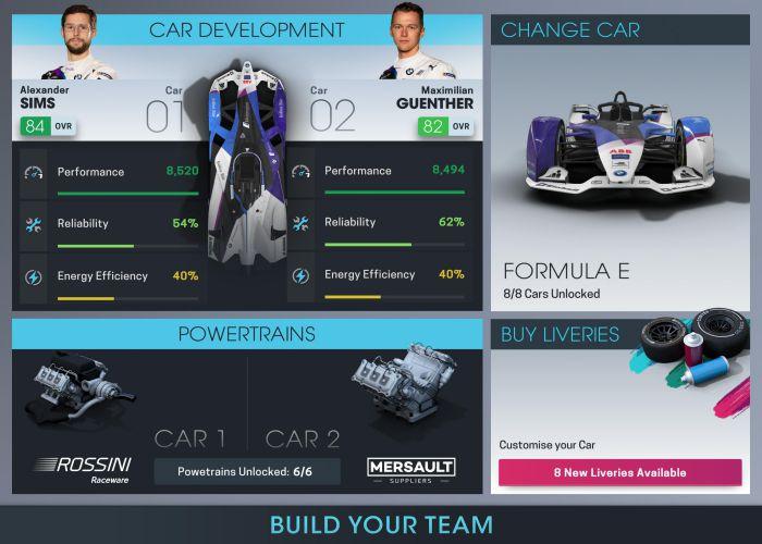 Motorsport Manager Online mod apk team download