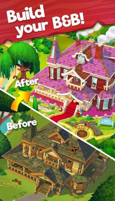Delicious Bed & Breakfast mod apk graphics download