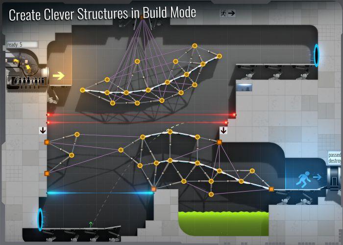 Bridge Constructor Portal mod apk graphics download