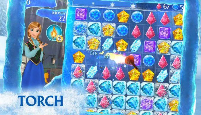 Frozen Free Fall mod apk gameplay download