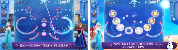 Frozen Free Fall mod apk items download