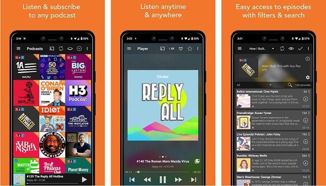 Podcast Addic mod apk key download