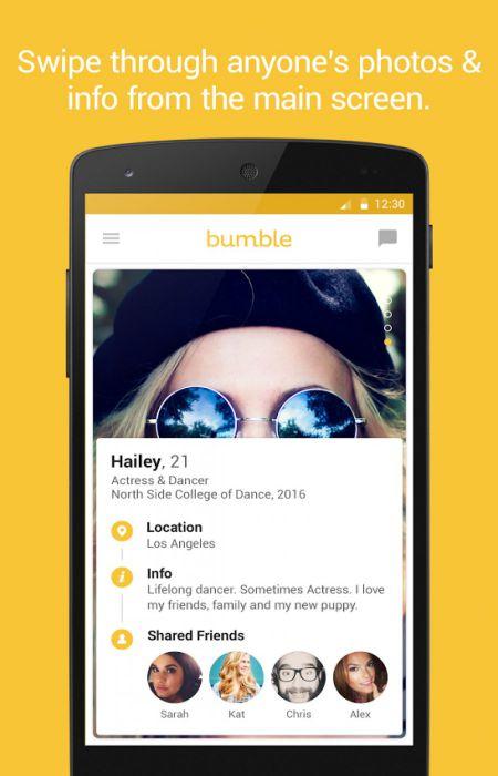 Bumble APK friends download