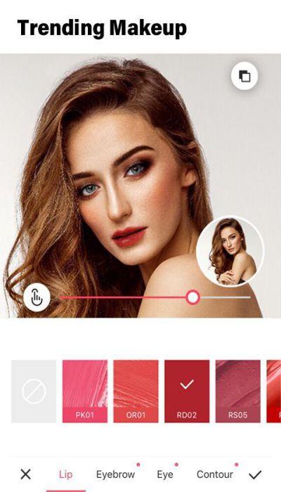 Meitu APK makeup download