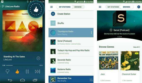 Pandora APK music download