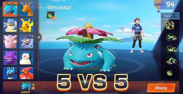 Pokemon Unite akp gameplay download