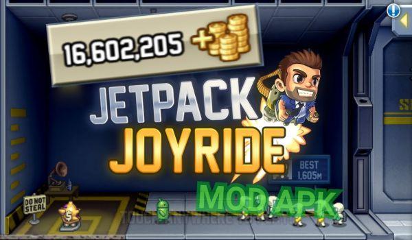 Jetpack Joyride mod apk (Money0