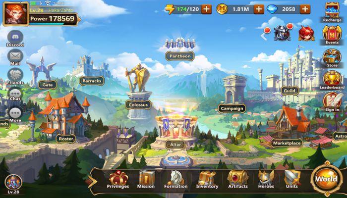 Might & Magic Era of Chaos apk story