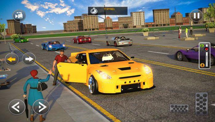 Modern Car Driving Simulator SUV Car Parking Games gameplay