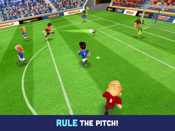 Mini Football MOD APK gameplay download