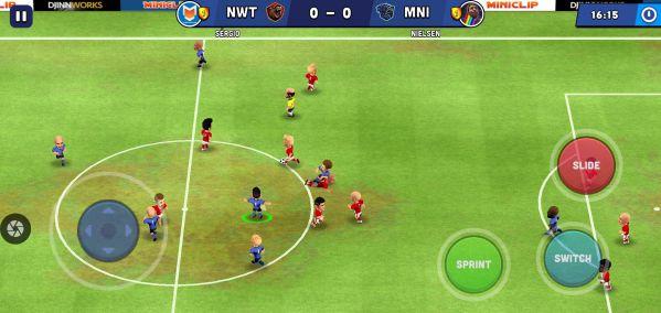 Mini Football MOD APK graphics download