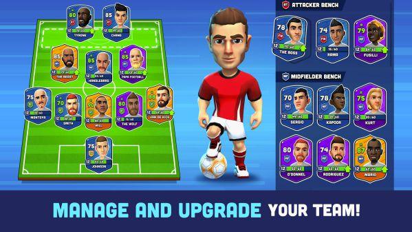 Mini Football MOD APK upgrade download