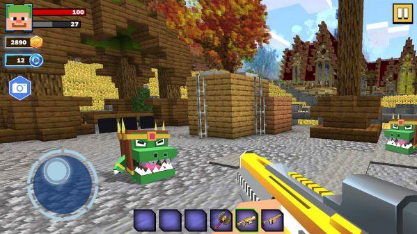 Fire Craft 3D Pixel World MOD APK chế độ