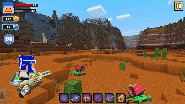 Fire Craft 3D Pixel World MOD APK gameplay