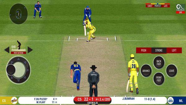 real cricket 20 mod apk gameplay