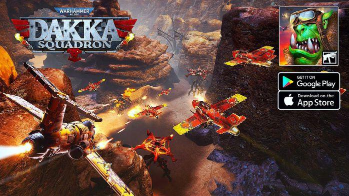 Warhammer 40,000 Dakka Squadron graphics free download