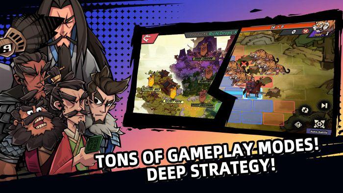 Three Kingdoms Tactics apk gameplay download