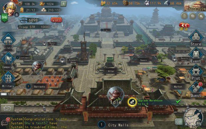 Three Kingdoms Tactics apk maps download
