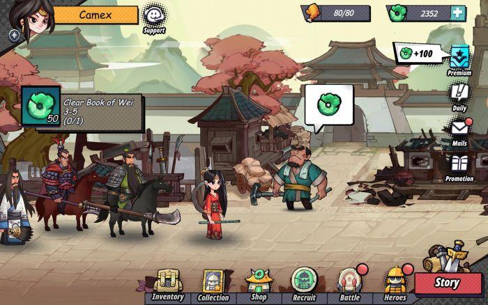 Three Kingdoms Tactics apk mod download