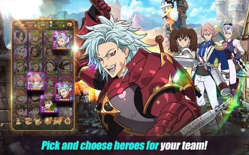 The Seven Deadly Sins Grand Cross download apk