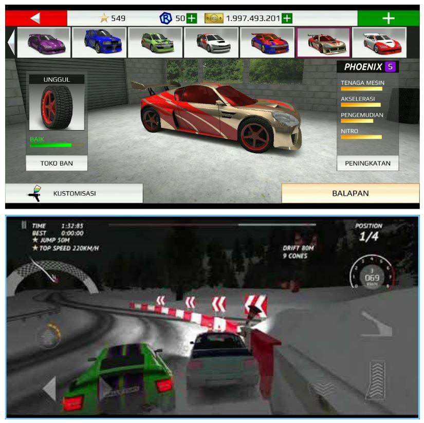 Rally Fury gameplay