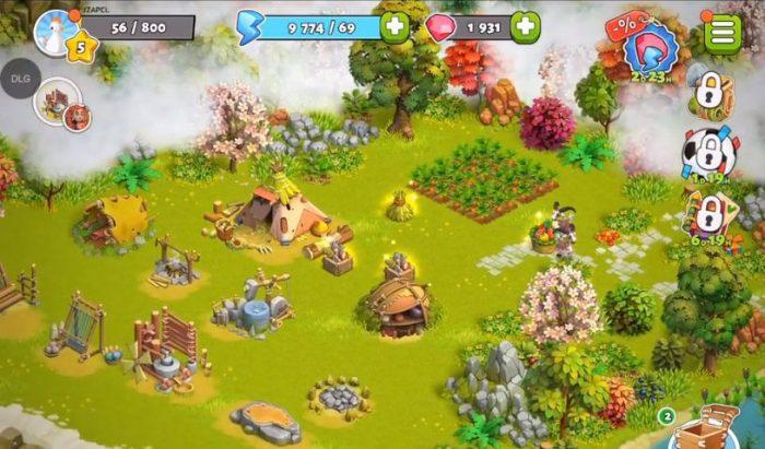 family island farm game adventure building