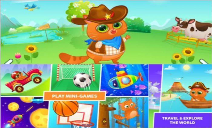 Bubbu - My Virtual Pet key features