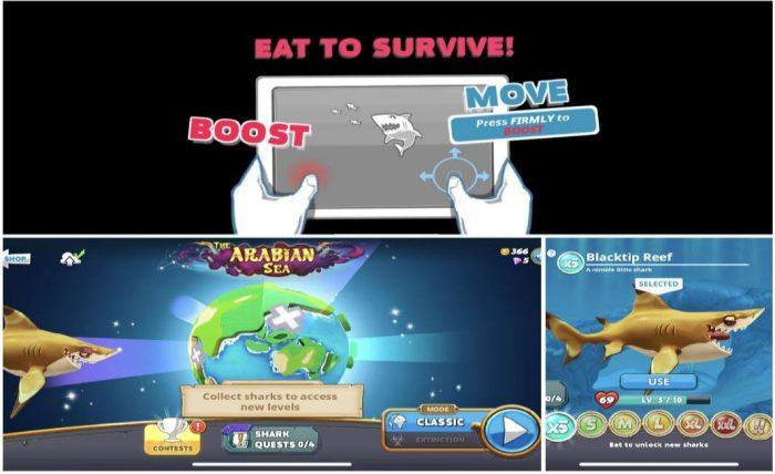 Hungry Shark World gameplay
