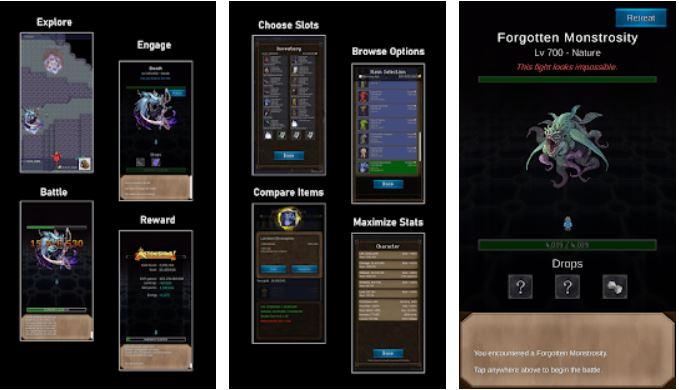 Resolute Hero RPG gameplay